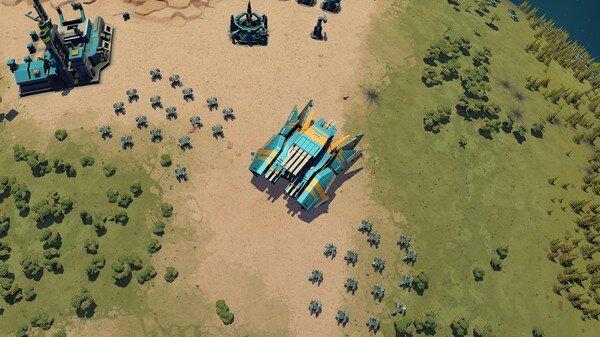 Planetary Annihilation: screenshot courtesy Steam