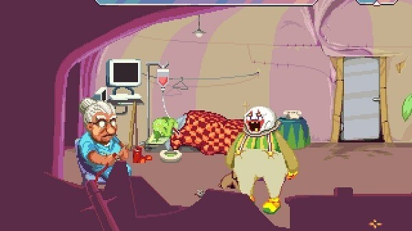 Dropsy, a depressing medical scene