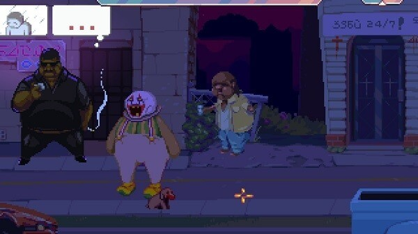 Dropsy, hanging out downtown at night