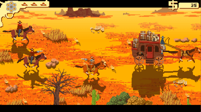 Westerado screenshot - Escort