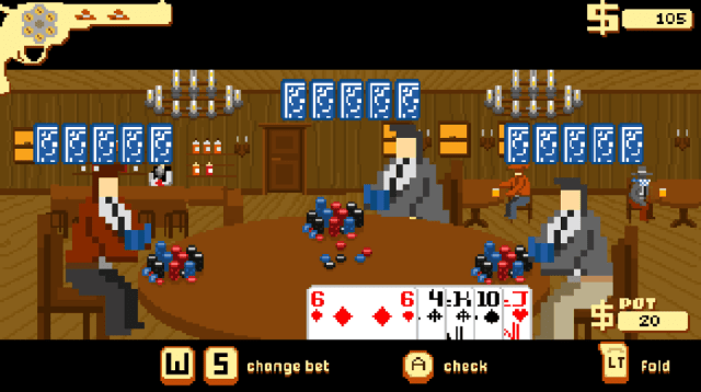 Westerado screenshot - Poker