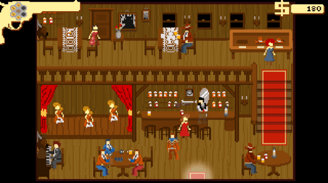 Westerado screenshot - Saloon