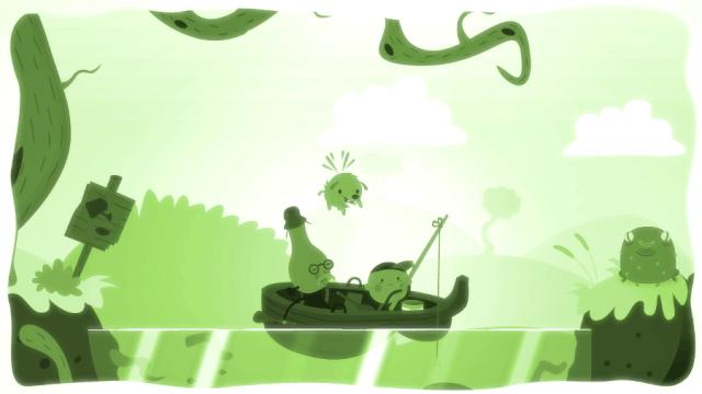 Bulb Boy screenshot - Lake