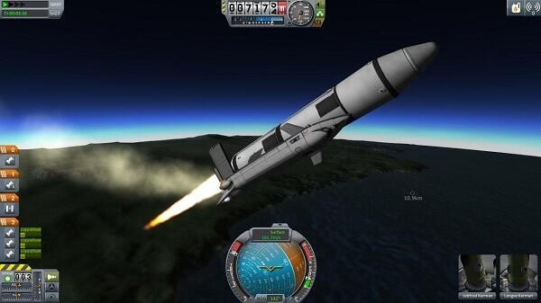 Kerbal Space Program Launch