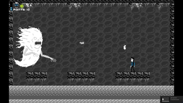 Abo Mando game screenshot, La Llorona