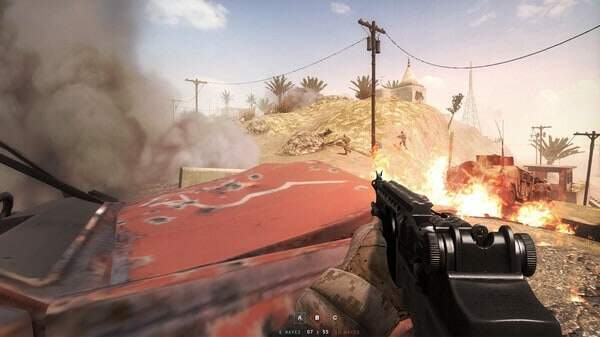 Insurgency game screenshot, FPS