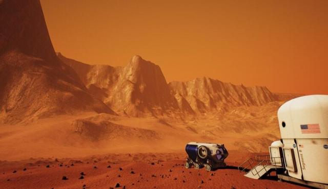 The Mars 2030 Experience, game promotional image, rover