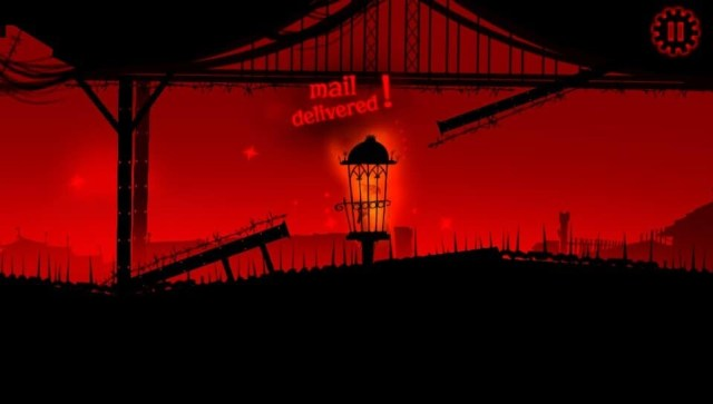 Red Game Without a Great Name game screenshot, level completed