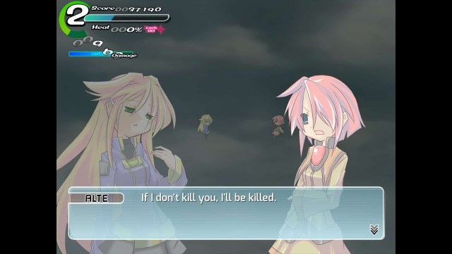 Sora game screenshot, boss dialogue