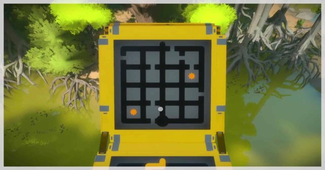The Witness swamp puzzle