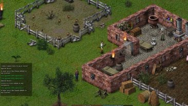 Balrum game screenshot, village