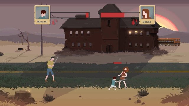 Sheltered game screenshot, combat