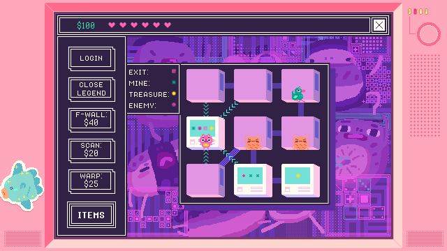 Beglitched game screenshot courtesy IndieCade