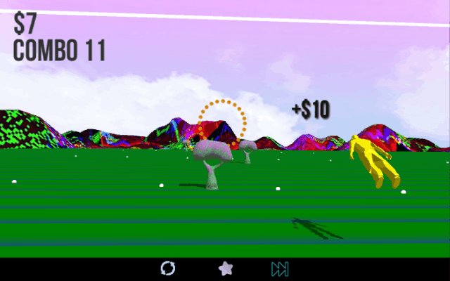 FRKN WKND game screenshot courtesy IndieCade