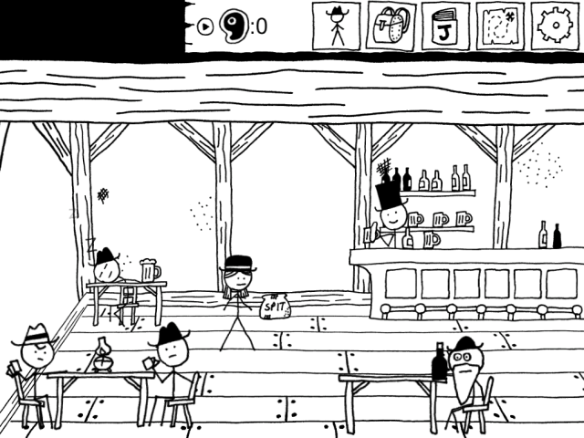 West of Loathing game screenshot courtesy IndieCade