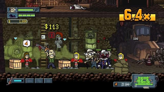 My Night Job game screenshot, chainsaw