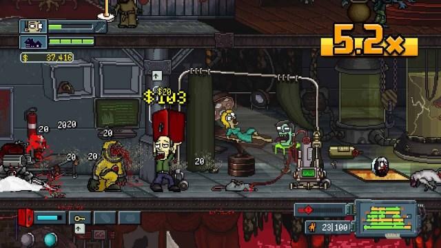 My Night Job game screenshot, a safe