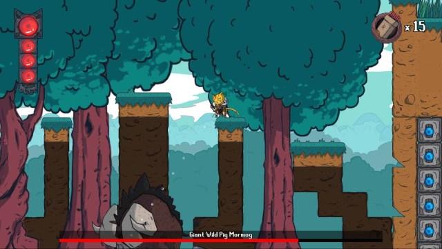 Hunter's Legacy game screenshot, wild pig