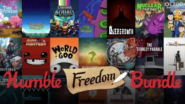 Humble Freedom Bundle header image
