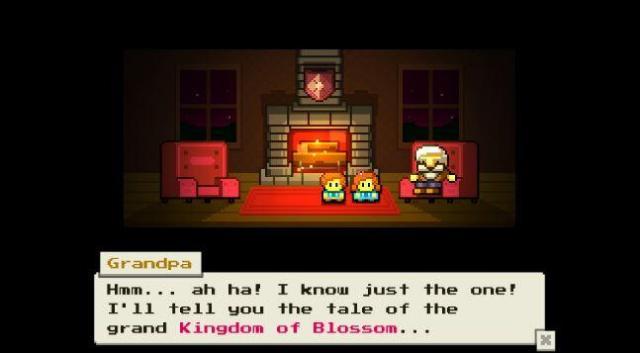 blossom tales grandpa
