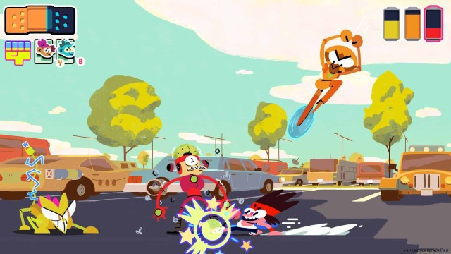 O.K. KO! Let's Be Heroes game screenshot courtesy Cartoon Network