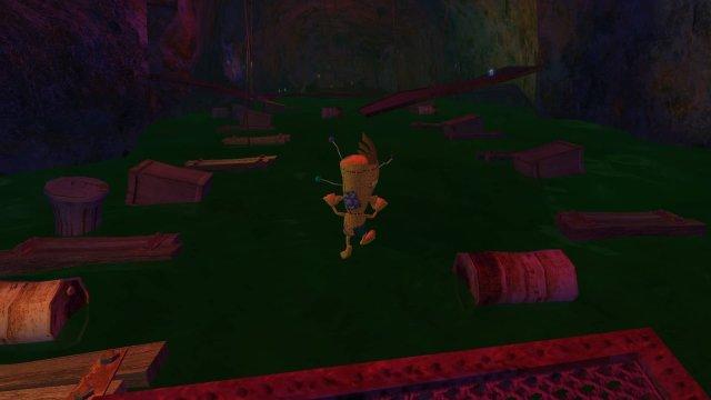 Voodoo Vince game screenshot, jumping