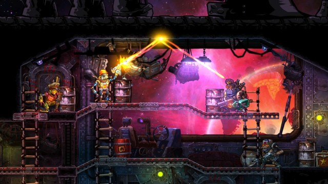 Steamworld Heist game screenshot courtesy Steam