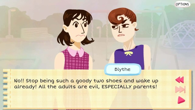 Kimmy game screenshot, Blythe