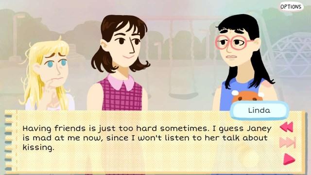 Kimmy game screenshot, Linda
