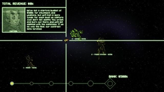 Cryptark game screenshot, budget