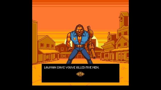 Dead Horizon game screenshot, sheriff