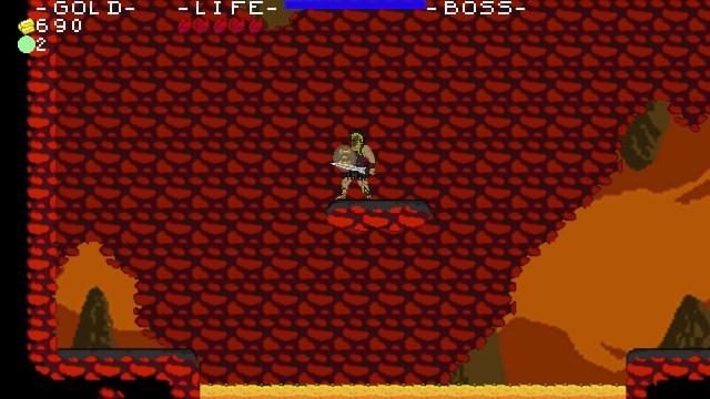 Xenia game screenshot, lava