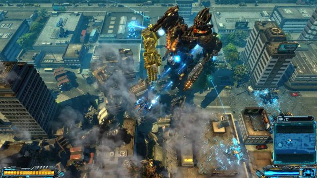 X-Morph: Defense - game screenshot courtesy Steam