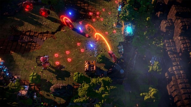 Nex Machina game screenshot courtesy Steam