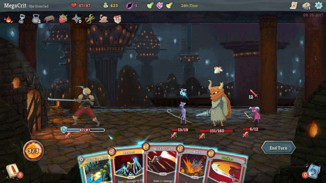 Slay the Spire game screenshot courtesy Steam