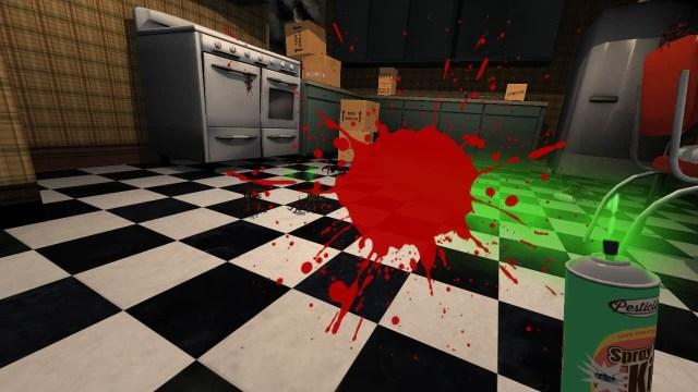 Attack of the Bugs VR splat screenshot