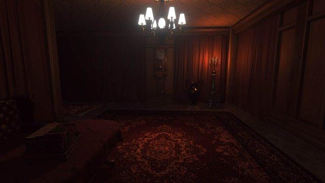 Lust For Darkness Game Screenshot Mansion