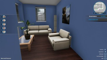 HouseFlipper screenshot livingroom
