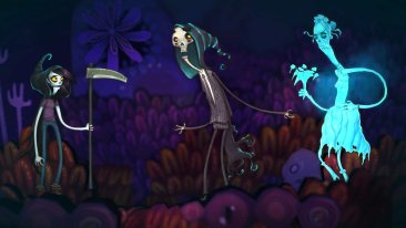 Flipping Death game screenshot courtesy Steam