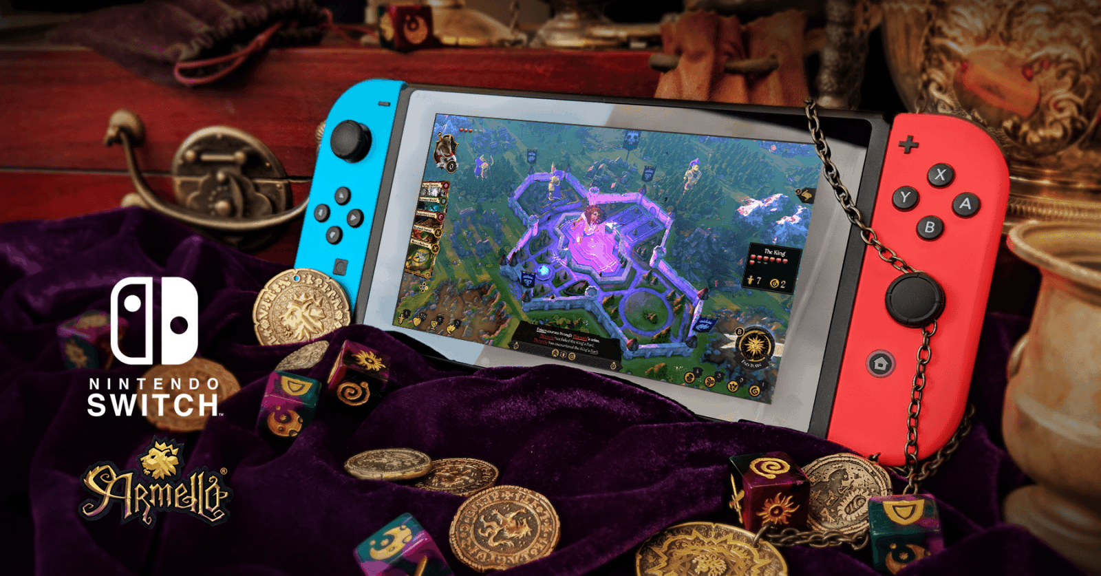 Armello Switch Mockup