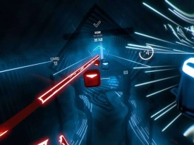 Beat Saber slash