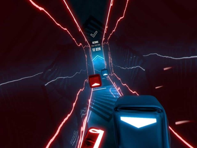 Beat Saber tunnel