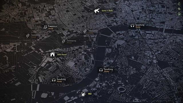 HellSign City Map