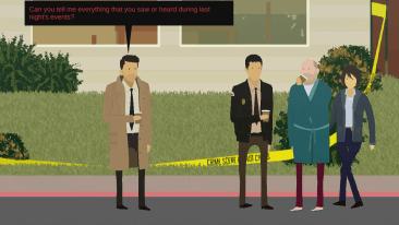 Rainswept game screenshot - police