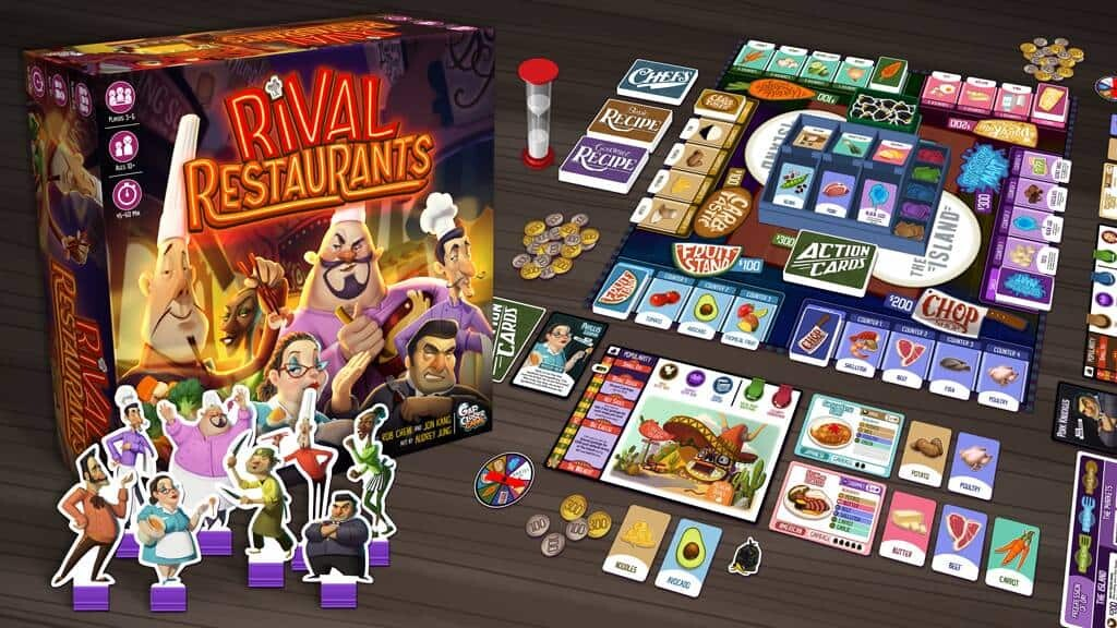 rival restaurants tabletop gaming