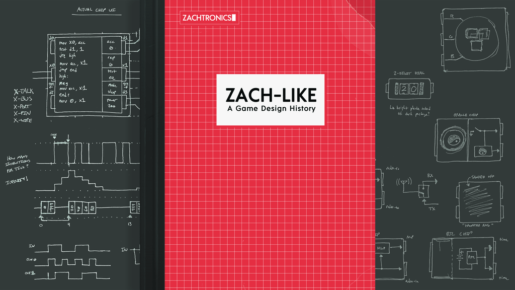 ZACH-LIKE book featured image, courtesy Kickstarter