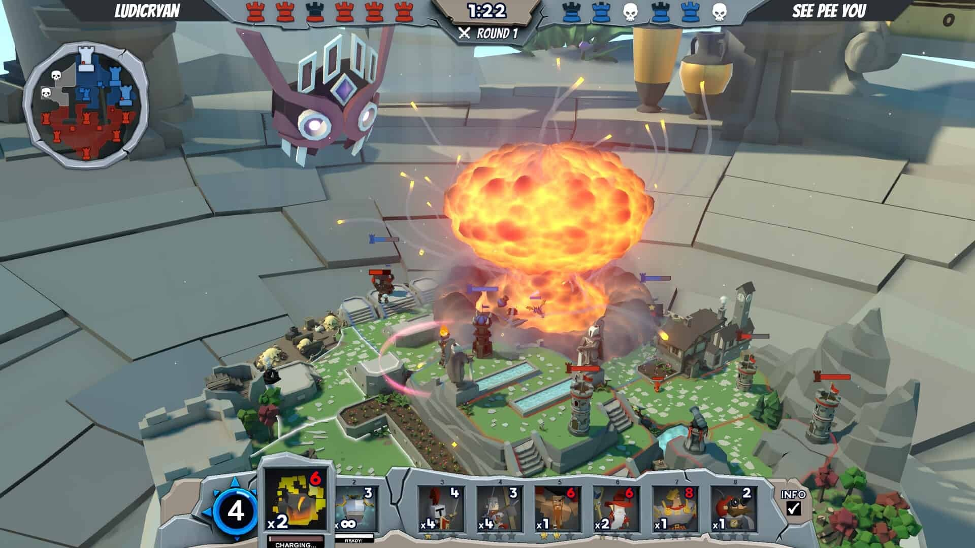 Tabletop Gods Preview - Play God in this Tower Defense (Early Access)