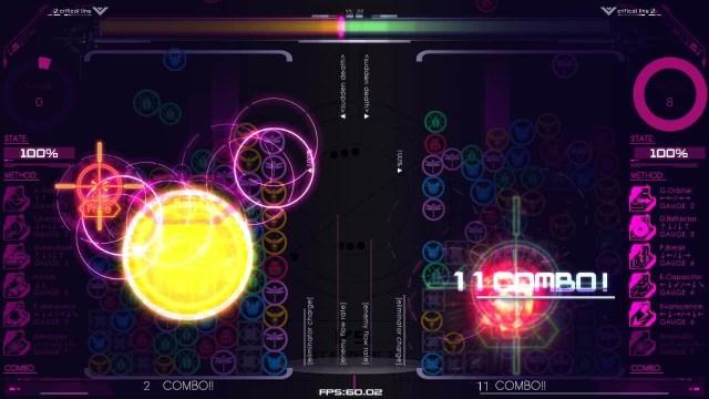 Akashicforce game screenshot, combo