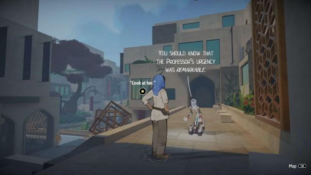 Heaven's Vault game screenshot, University of Iox