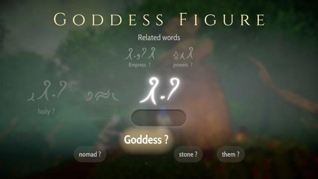 Heaven's Vault game screenshot, translation
